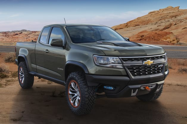 Colorado ZR2 Concept, featuring the 2.8L Duramax Turbo Diesel