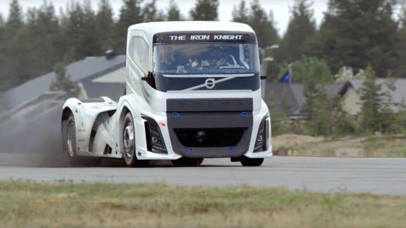 Volvo's 2,400-hp semi is the quickest truck in the world - Autoblog