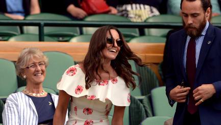 Pippa Middleton: Unroyal in Wimbledon