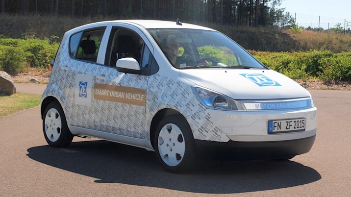 ZF smart urban vehicle EV