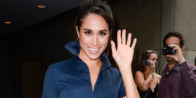 The First Photograph of Prince Harry and Meghan Markle as a Couple