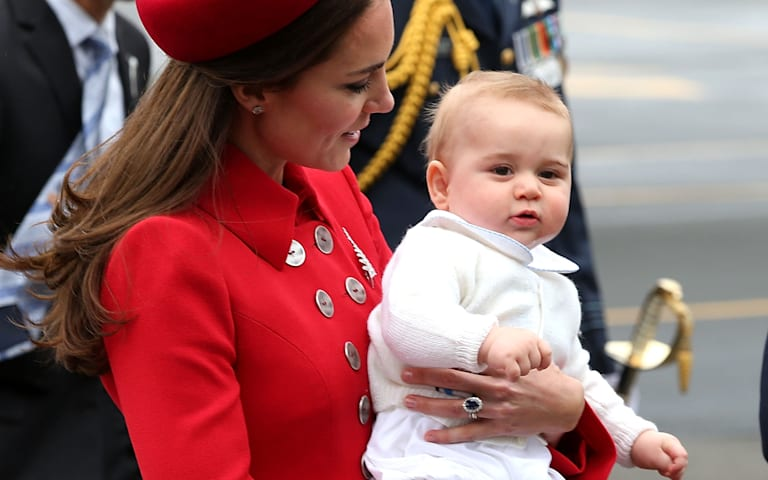 Prince George lands the cover of Vanity Fair