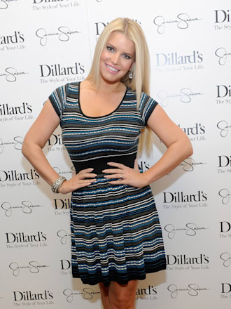 Jessica And Ashlee Simpson Host Jessica Simpson Collection Event At Dillard's NorthPark Center