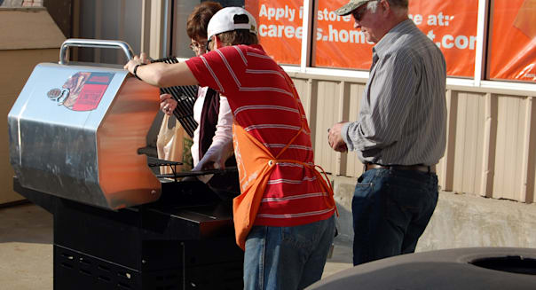 home depot grill best items buy september