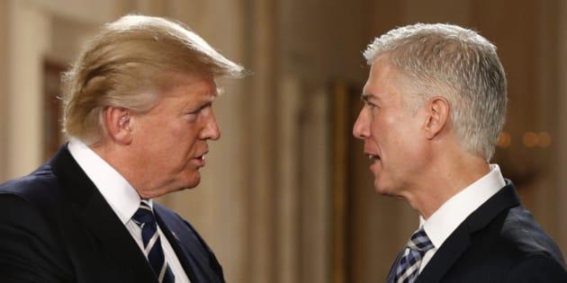 Donald Trump choisit Neil Gorsuch pour siéger à la Cour suprême