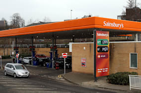 Sainsbury Petrol Station