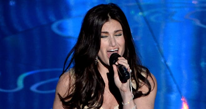 idina menzel let it go oscars
