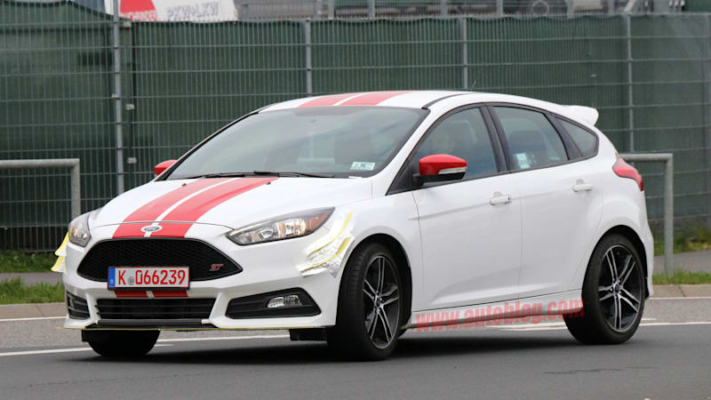This Ford Focus ST prototype might hint at a power boost