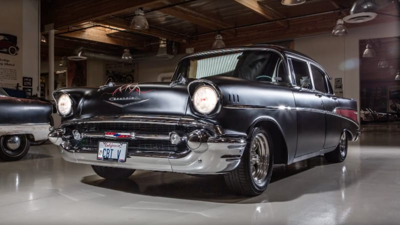 A father-and-son duo built this incredible 1957 Chevrolet 210