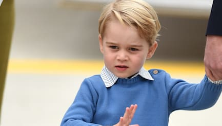 Prince George snubs world's coolest leader