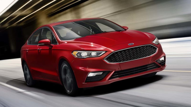 2017 Ford Fusion gets 325-hp Sport model with AWD