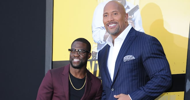 Kevin Hart & The Rock Share a Wild First Look at 'Jumanji'