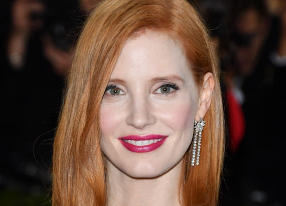 Jessica Chastain's gorgeous Met Gala makeup look