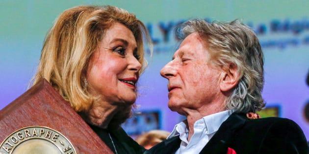 Catherine Deneuve défend Roman Polanski, accusé de viol, dans l'émission
