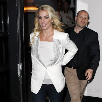 Britney Spears Sighting In London - October 15, 2013