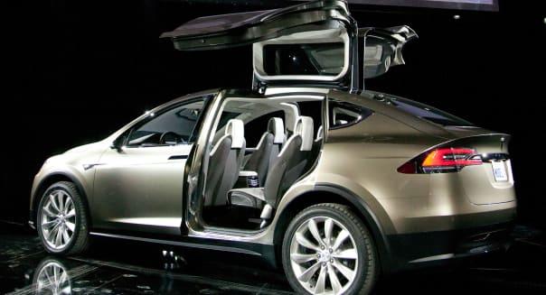 Tesla Motors CEO Elon Musk Unveils Model X