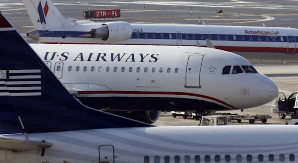 us airways american airlines merger amr bankruptcy aviation airports