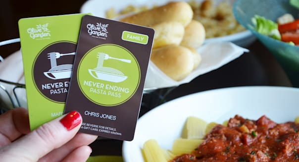 olive garden pasta pass returns