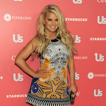 Jessica Simpson, recipient of the