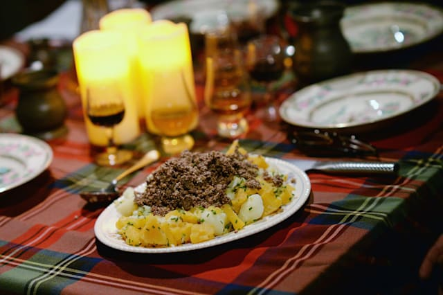 Burns Night Supper Celebrated At Robert Burns Birthplace Museum