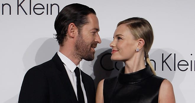 Michael Polish and Kate Bosworth in South Korea on May 24, 2012