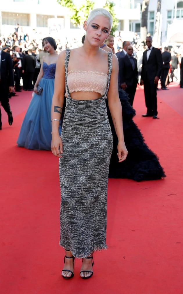 Kristen Stewart Fait Sensation Sur Le Tapis Rouge Du Festival De Cannes 2017