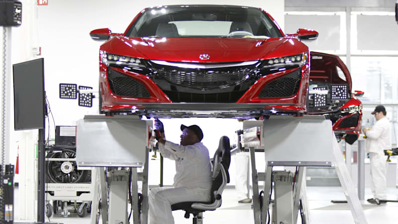 Honda's Acura NSX masterstroke: building the factory in Ohio