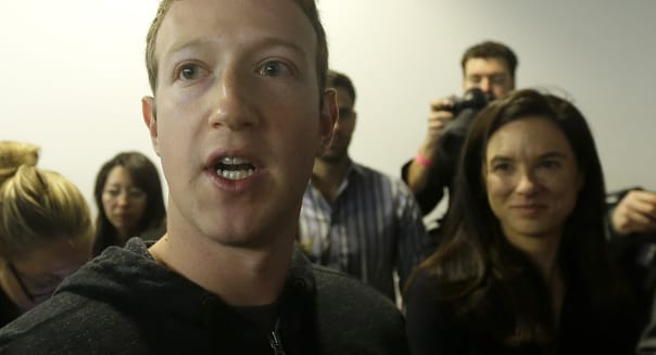 Facebook CEO Mark Zuckerberg hacked online security internet