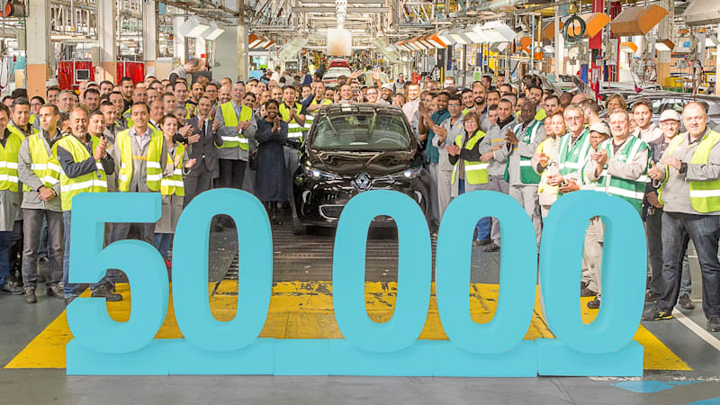 Recharge Wrap-up: Nissan Leaf top environmental performer, 50,000th Renault Zoe