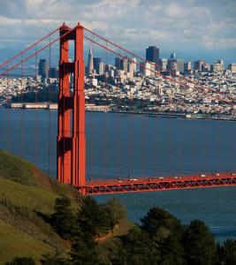 golden gate bridge north tower...