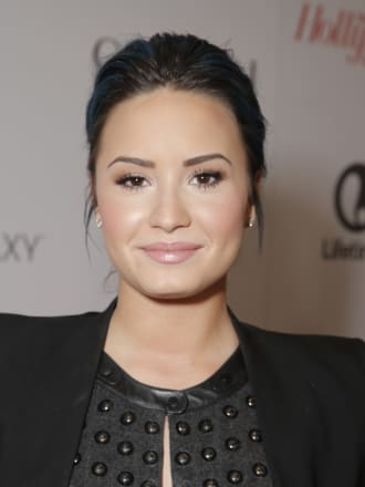 Demi Lovato Access Hollywood Cutting