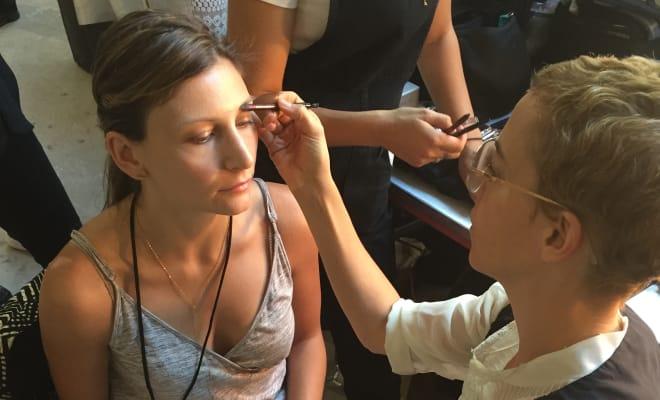 new york fashion week application makeup artist jobs