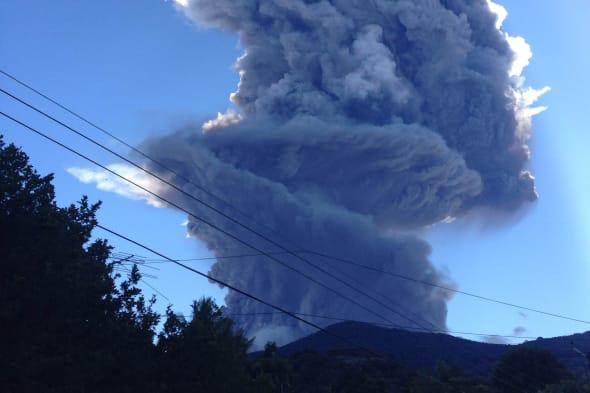 Salvador Volcano