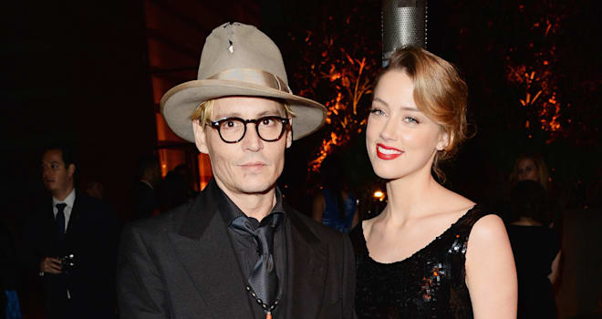 johnny depp engaged amber heard