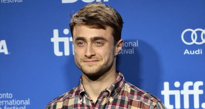 Daniel Radcliffe at 'The F Word' Press Conference at the 2013 Toronto International Film Festival