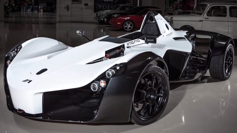 jay leno singles out the bac mono autoblog. Black Bedroom Furniture Sets. Home Design Ideas