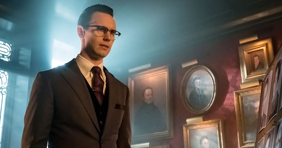 "Cory Michael Smith in the ""Heroes Rise: How The Riddler Got His Name"" spring premiere episode of GOTHAM airing Monday, April 24"