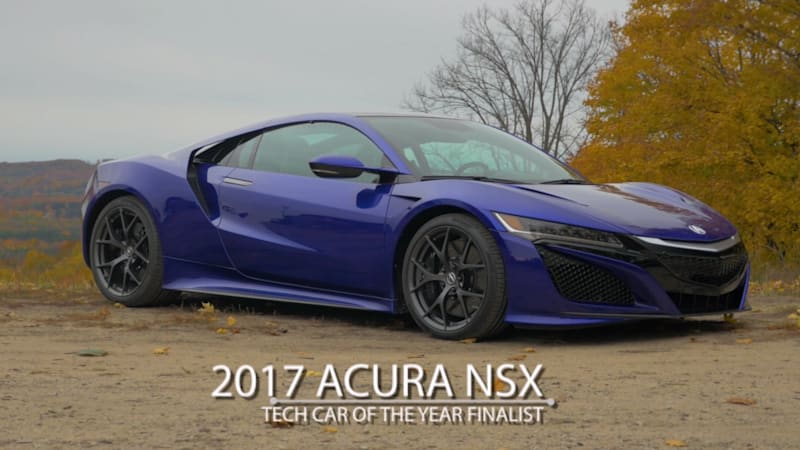 2017 Acura NSX | Autoblog Technology of the Year Finalist