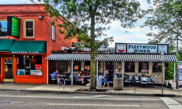 Ann Arbor Michigan FleetWood Diner