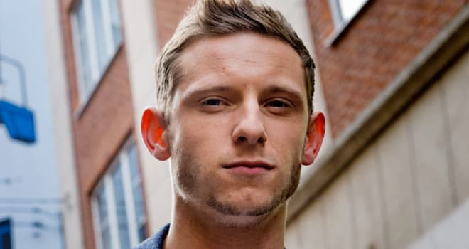 Jamie Bell in Brussels on Oct. 21, 2011
