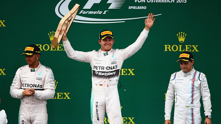 Nico Rosbert Austrian Grand Prix