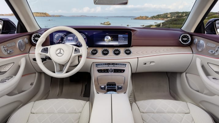2018 mercedes benz e class cabriolet gets 4matic 25th. Black Bedroom Furniture Sets. Home Design Ideas