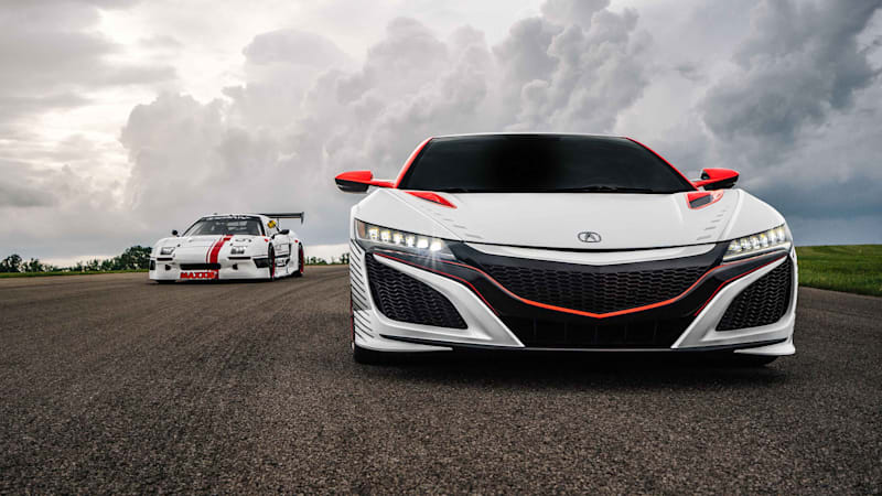 Honda sending two NSX racers and new EV concept to Pikes Peak