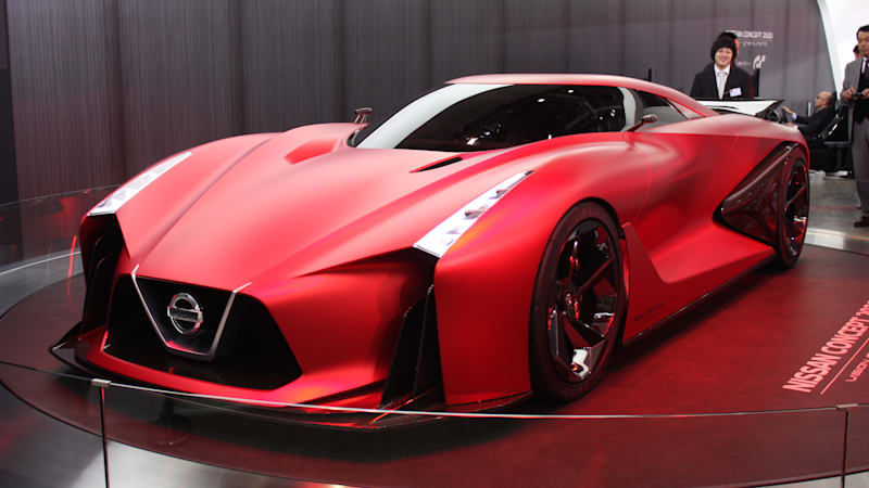 Nissan Concept 2020 Vision Gran Turismo is seeing red