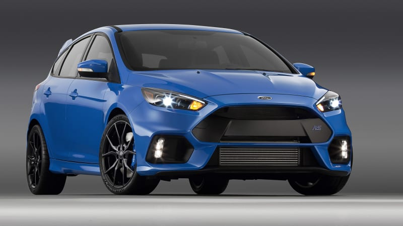 Ford Focus RS gets 350 hp, 350 lb-ft, stall recovery tech