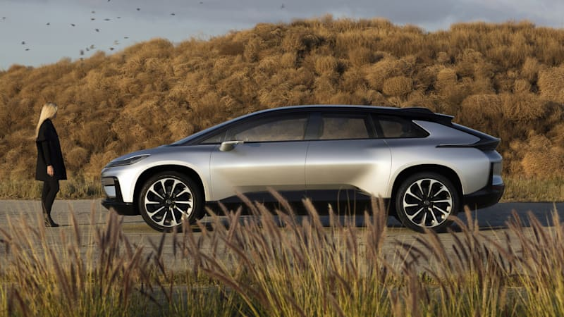 How realistic is the Faraday Future FF 91?