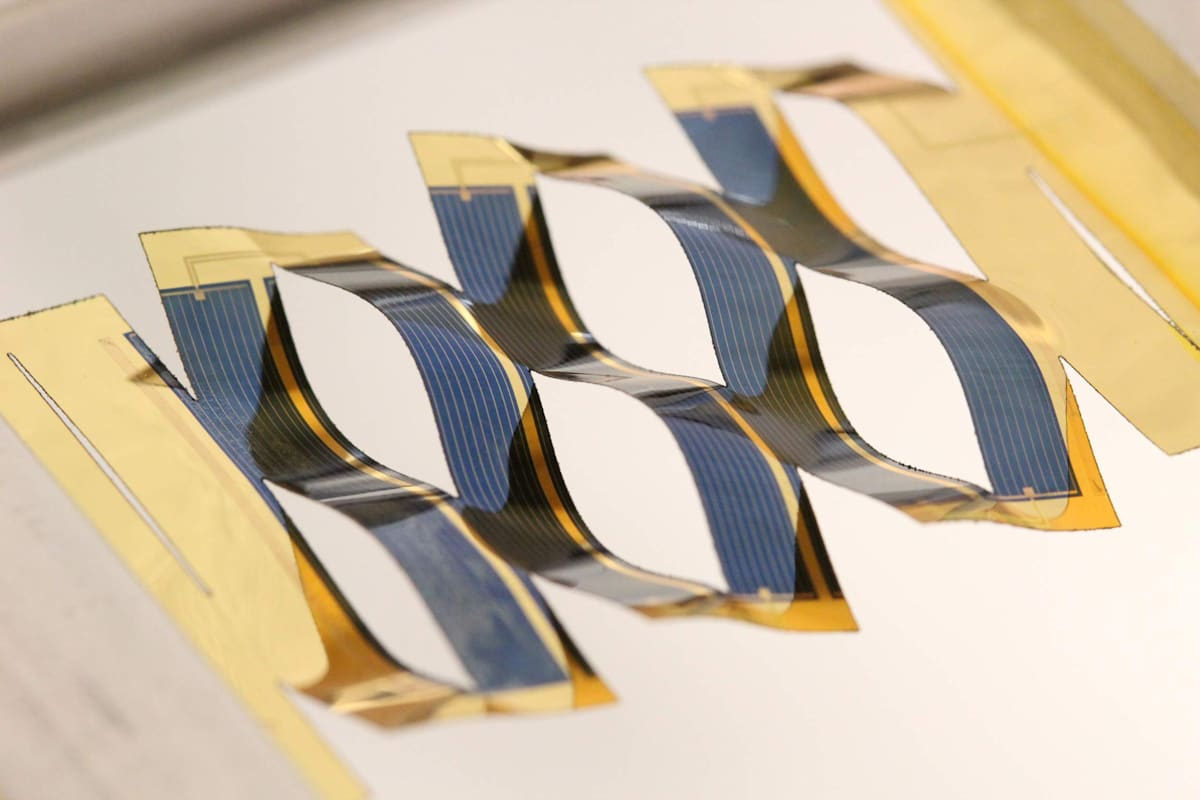 Kirigami-inspired solar cells can track the sun without motors
