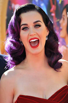 katy perry at the los angeles...