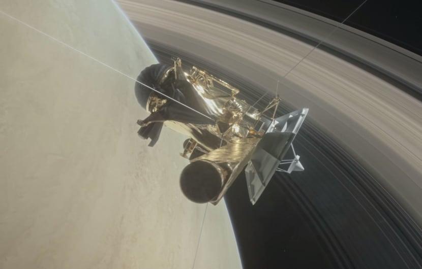 Cassini gelingt erster Sturzflug durch die Saturnringe (Update)