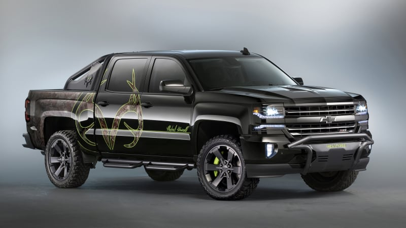Chevy Silverado Gets Star Studded Treatment At Sema Autoblog